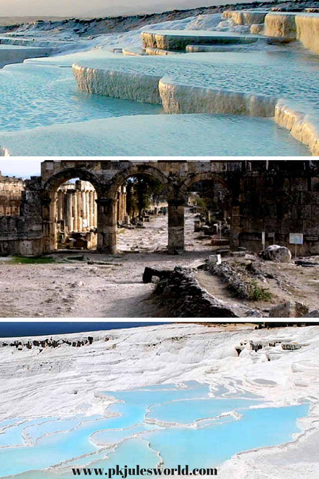 #pamukkale Thermal Pools a Day Trip from Marmaris Turkey! #visitturkey #dreamyturkey