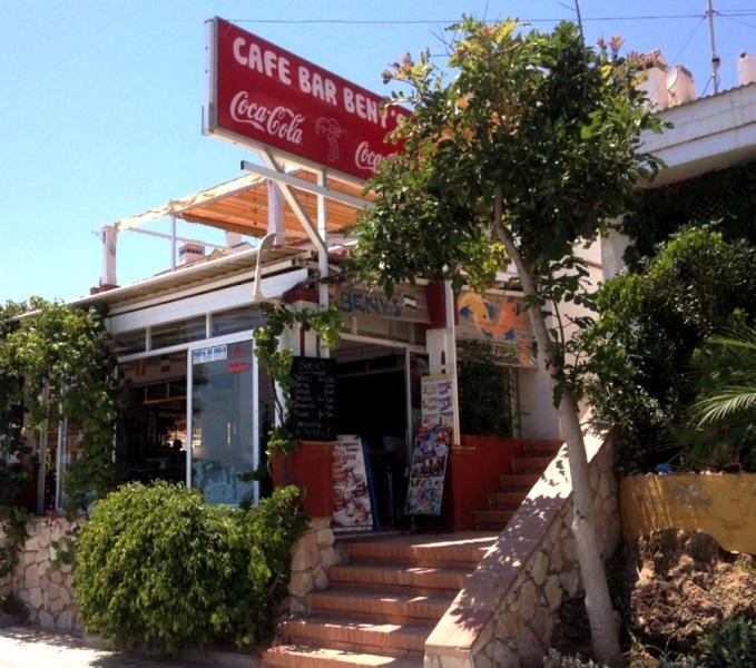 Cafe Beny's Benalmadena Promenade. Costa Del Sol Malaga #visitspain